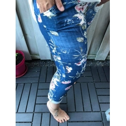 Joggingbroek bloemenprint